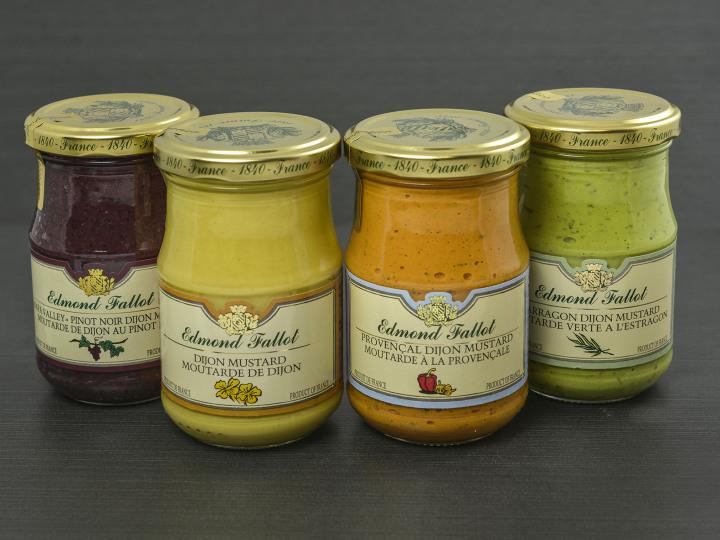Moutarde de Dijon au pinot noir