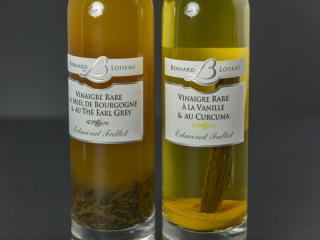 Vinaigre rare à la vanille et au curcuma