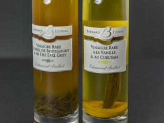Vinaigre rare au miel de Bourgogne et au thé Earl Grey